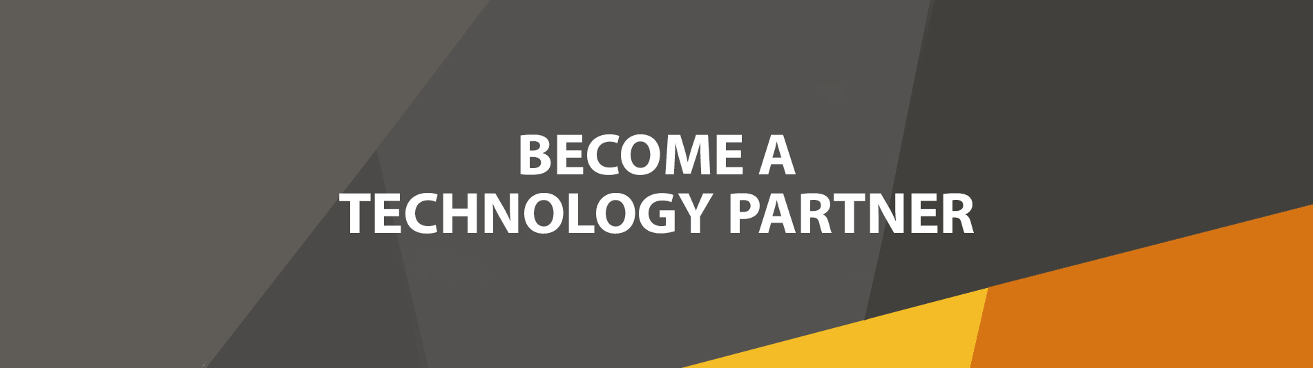 Become a technology partner
